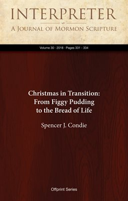 Christmas in Transition: From Figgy Pudding to the Bread of Life