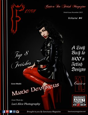 Gotica Da Fetish Magazine Vol#4