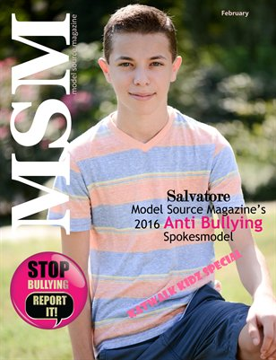 Model Source Magazine February 2016 Anti Bully Special Release Issue