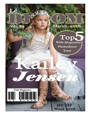 Le Bloom Kids Magazine Kailey Jensen