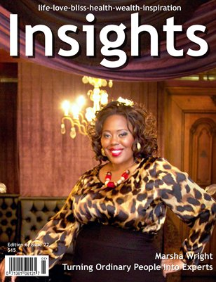 Insights Magazine featuring Marsha Wright