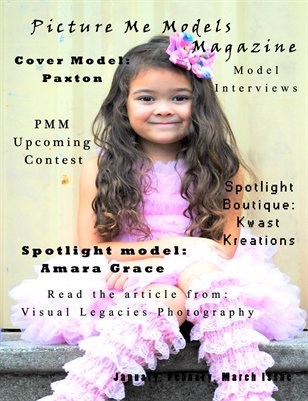 Picture Me Models Magazine Second Issue