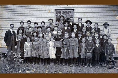 About 1900-1901 New Hope School, McCracken County, Kentucky