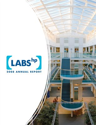HP Labs 2008 Annual Report