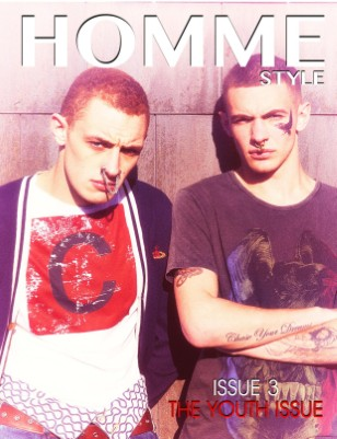 Homme Style Issue 3 (Jack Manhood & Luke Brennan Cover)