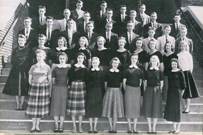 CLASS OF 1957, SOUTH MARSHALL, MARSHALL COUNTY, KENTUCKY