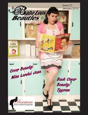 Baba Lous Beauties- Anything Pin Up Issue 21: January 2015