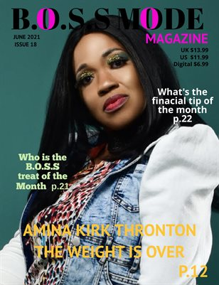 B.O.S.S MODE Magazine June Edition 2021