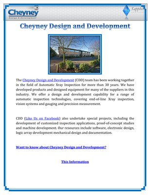 Cheyney Design and Development