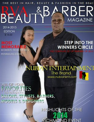 Beauty and Barber Magazine 1st Issue 2014