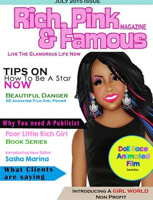 Rich Pink & Famous July Issues 2015
