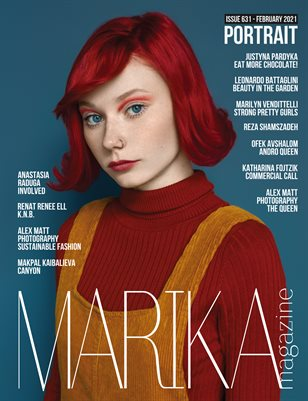 MARIKA MAGAZINE PORTRAIT (ISSUE 631 - February)