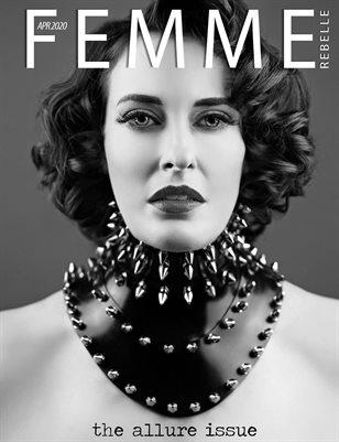 Femme Rebelle Magazine APRIL 2020 - ALLURE Issue - MyBoudoir Cover