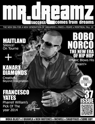BOBO NORCO MR DREAMZ MAGAZINE FALL 2014
