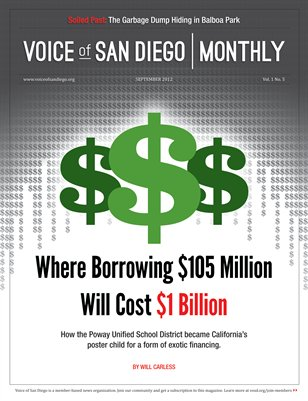Voice of San Diego Monthly | September 2012