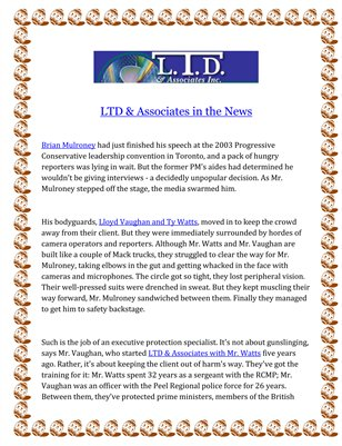LTD & Associates in the News