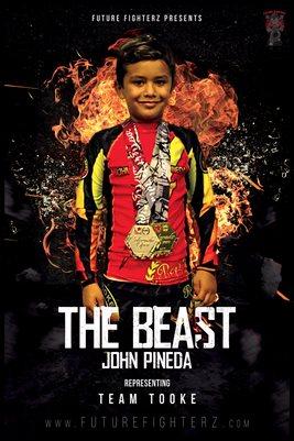 John Pineda Fire Poster