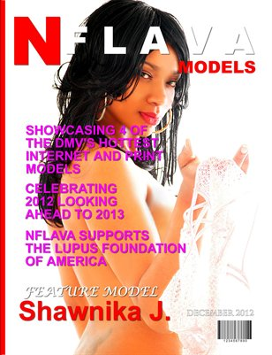 NFLAVA Model Magazine December 2012 Edition
