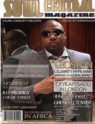 Soul Central Magazine Edition #49 #TBoston