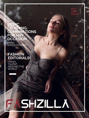 Fashzilla Magazine, November 2020