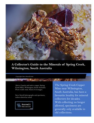 A Collector's Guide to the Minerals of Spring Creek, South Australia