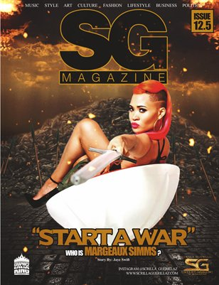 The Official Scrilla Guerillaz Magazine #12.5