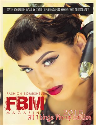 Fashion Bombshell Magazine: All Things Pinup Edition 2015