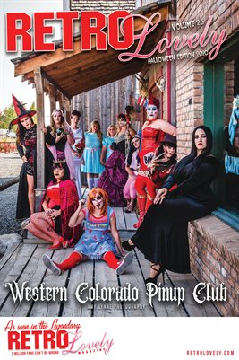 Western Colorado Pinup Club Cover Poster