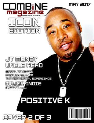 COMBiNE Magazine ICON Issue (Cover 2)