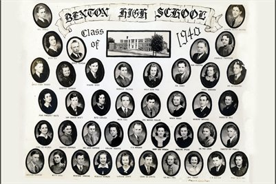Class of 1940, Benton High School, Marshall County, Kentucky