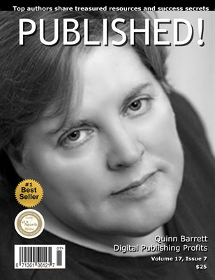 PUBLISHED! featuring Quinn Barrett