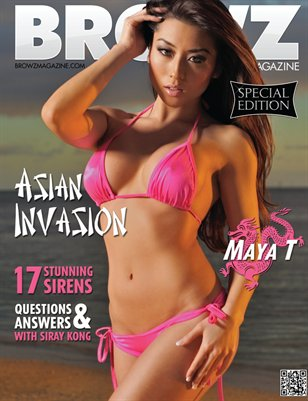 BROWZ Magazine: Asian Invasion