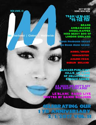 Le'Blanc Music Mag Vol.13-Bessy Boo