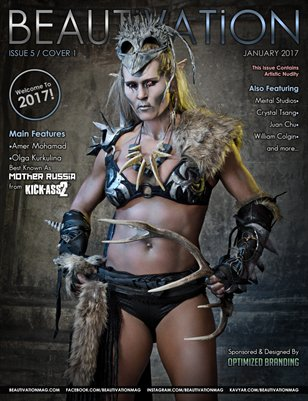 Beautivation Magazine #5 (Cover 1)