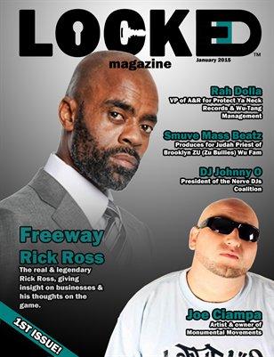 LOCKED Magazine January 2015 (First Issue)