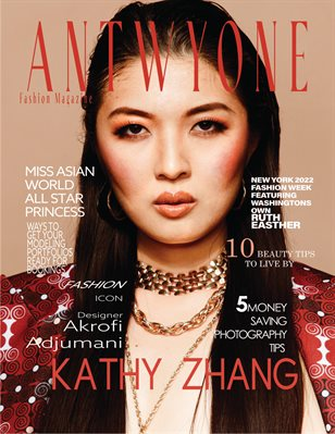 ANTWYONE THE FASHION AND BEAUTY MAGAZINE