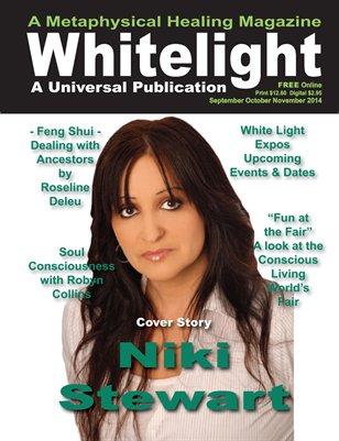 White Light Magazine - Sept Oct Nov 2014