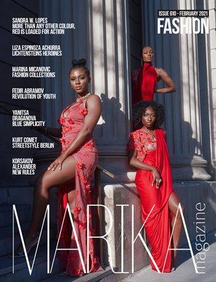 MARIKA MAGAZINE FASHION ( ISSUE 610 - February )