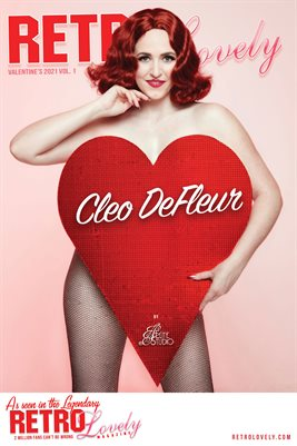 Cleo DeFleur Cover Poster