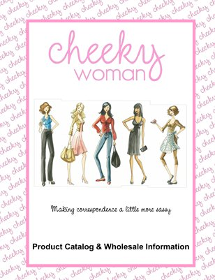 Cheeky Woman Product Catalog 2012
