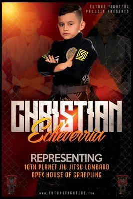 Christian Echeverria Cage Poster