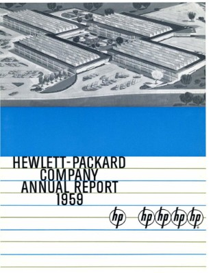 HP Annual Report 1959