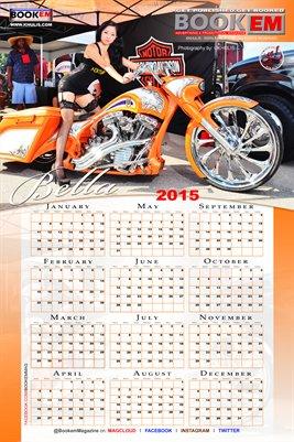 Bella Robledo 2015 Calendar 1