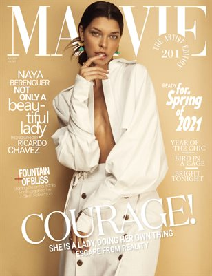 MALVIE Magazine The Artist Edition Vol 201 April 2021