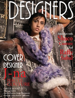 World Class Designers Magazine with J-na Haute Couture
