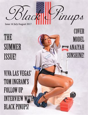 Black Pinups Issue 16
