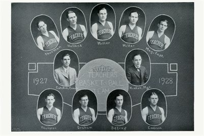 1927-1928 MURRAY STATE TEACHERS COLLEGE BASKETBALL TEAM