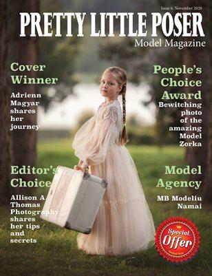 Pretty Little Poser Model Magazine - Issue 6 - November 2020