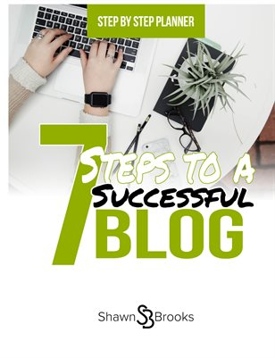 Step by Step Planner: 7 Steps to a Successful Blog