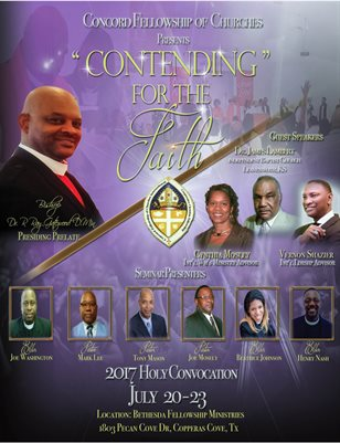 2017 Concord Fellowship of Churches